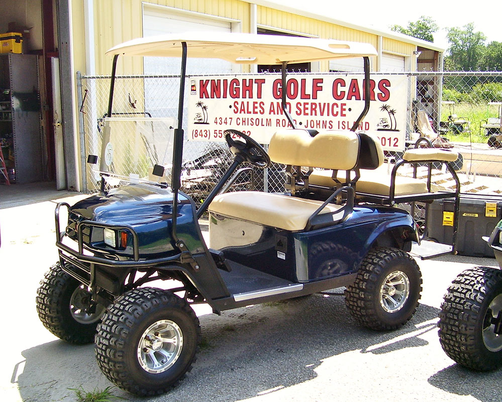 Navy Golf Cart